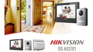 Video namruņa komplekts Hikvision DS-KIS701