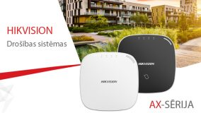 Hikvision iepazīstina ar jaunākajām signalizācijas sistēmām – AXHub
