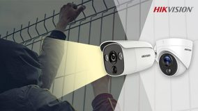 Proaktīvā perimetra aizsardzība ar Hikvision Turbo HD PIR kamerām