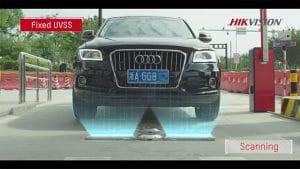 Hikvision novērošanas sistēmas zem transportlīdzekļiem