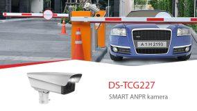 DS-TCG227 – jaunās paaudzes SMART videonovērošanas ANPR kameras