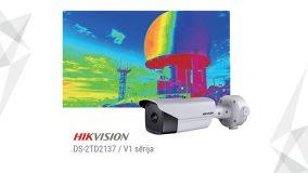 Hikvision ir izlaidis jaunas termālās kameras