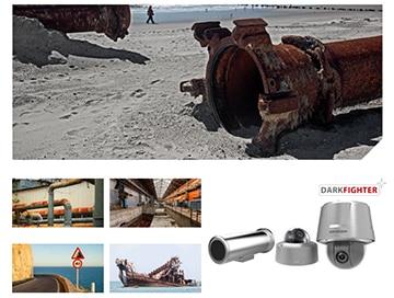 videonovērošanas kameras, ostas, piejūras teritorija, ķīmiskā rūpniecība