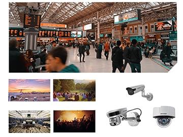 videonovērošanas kameras, osta, stacija, parks, koncerti, lidosta