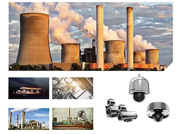 Sprādzienizturīgās kameras, ražošana, rūpnīcas, naftas un ķīmijas nozare