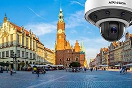 Panorāma skata videokamera Rīgas centrā
