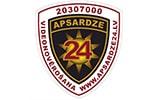Apsardze 24 uzņēmuma logo