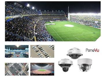 PanoVu kameras, stadioni, koncertzāles, autostāvvietas, ceļa krustojumi