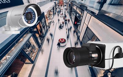 lielveikals, tirdzniecības centrs, IP kameras, videonovērošanas kameras
