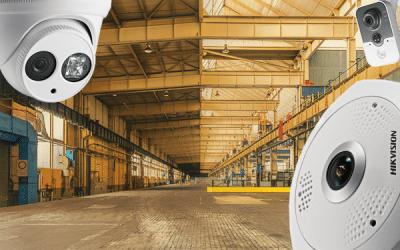 rūpniecības telpas, noliktava, IP kameras, videonovērošanas kameras